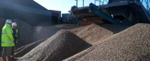 producing recycled aggregates Avon Material Supplies