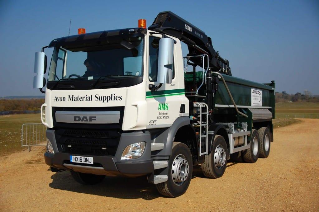 Avon Material Supplies Grab lorry