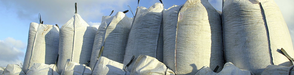 bulky bags, bagged aggregates