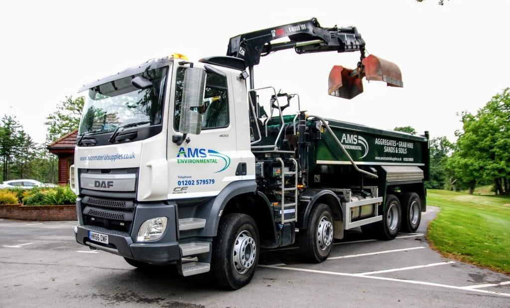 AMS 8 wheel grab truck