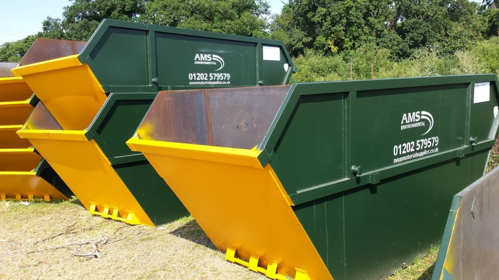 Skip exchange in Bournemouth by AMS
