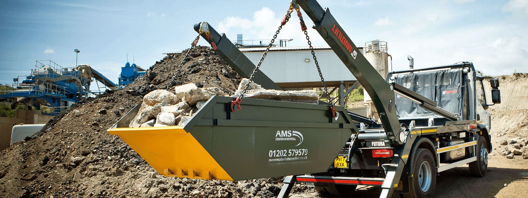 Bournemouth skip hire from AMS (1)