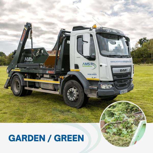 Garden waste skip hire from Avon Material Supplies