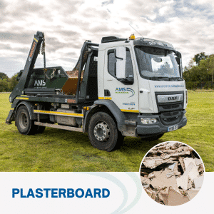 Plasterboard skip hire from Avon Material Supplies