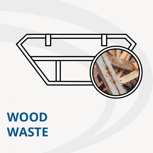 Wood waste skip hire