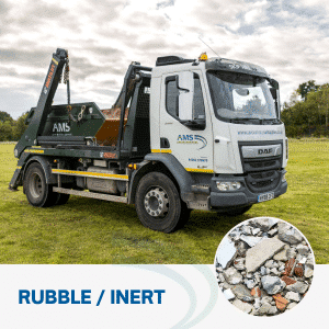 Rubble skip from Avon Material Supplies