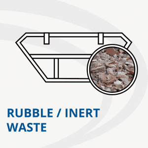 Rubble and inert skip hire from AMS - Avon Material Supplies