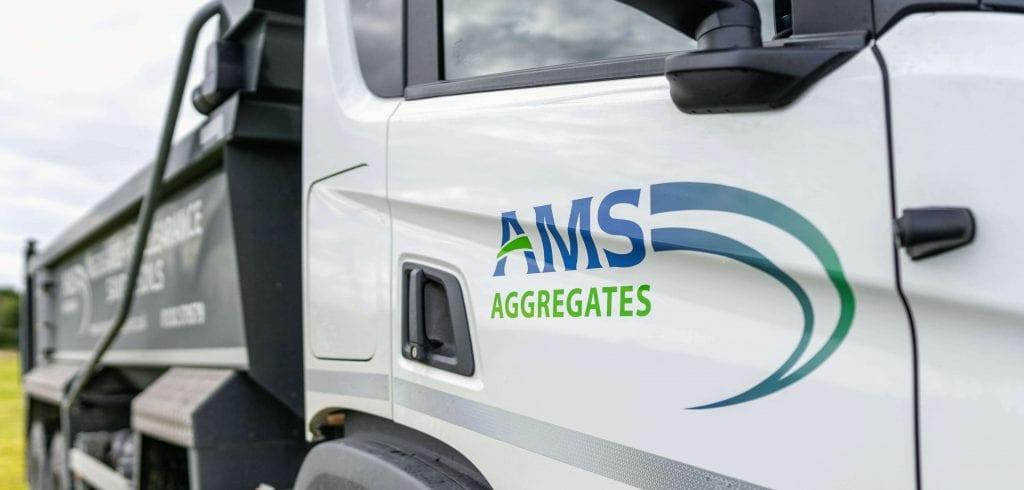 AMS scania tipper truck