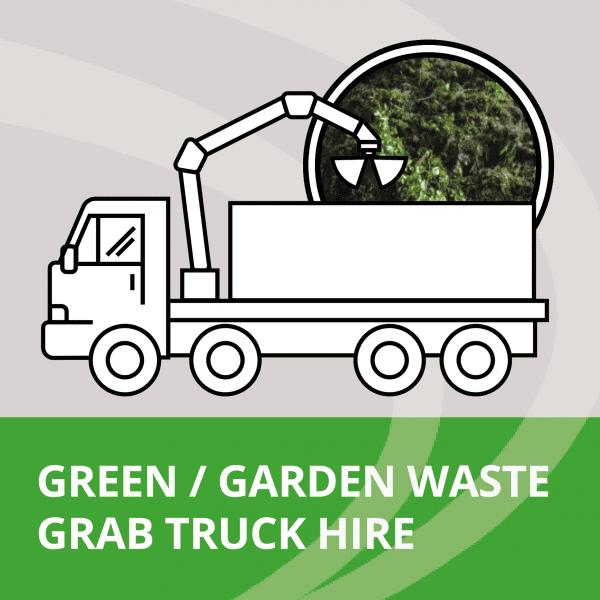 Green waste grab truck