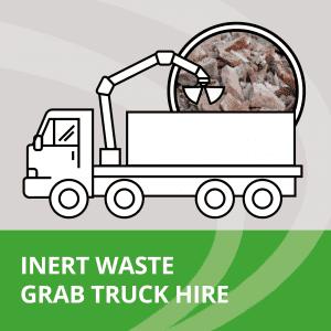 Inert waste collection on grab trucks