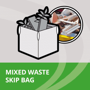 Mixed waste skip bag