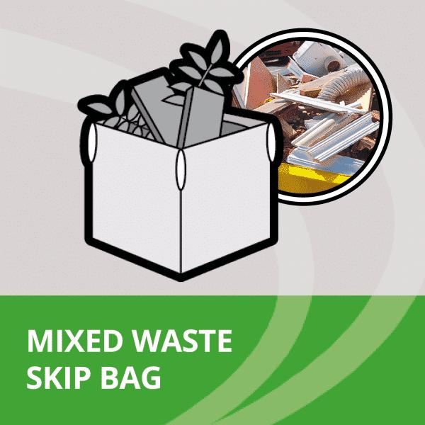 Mixed waste skip bag