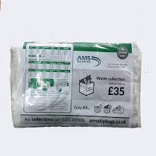 Empty skip bag from AMS