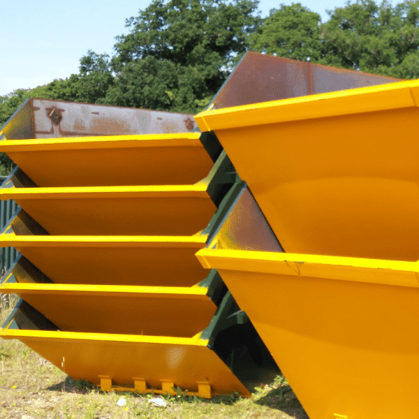 Avon Material Supplies skips stacked