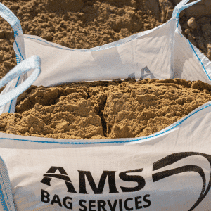 Bulk bag building sand delivered
