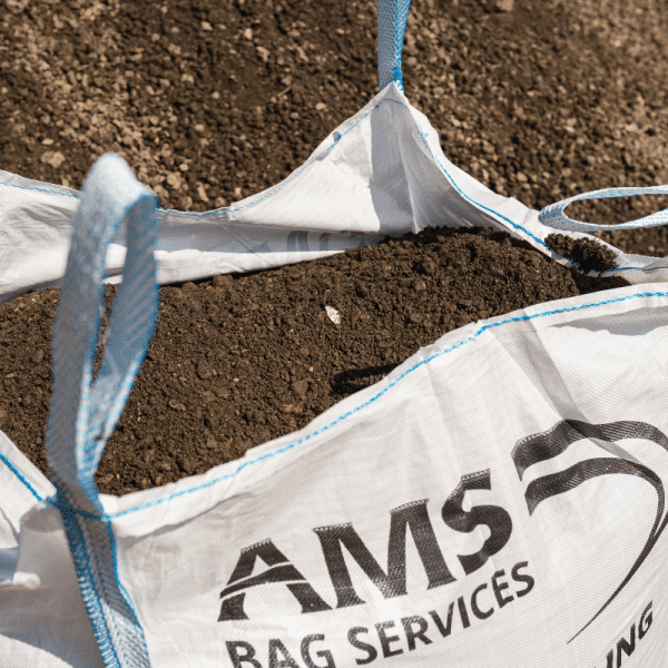 Bulk bag topsoil delivery
