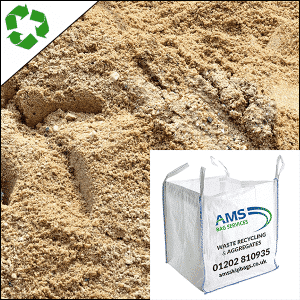 Medium Washed Sand in Bulk Bags