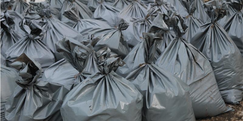 Commercial refuse bag