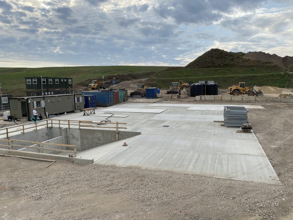 AMS Concrete base