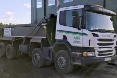 Scania P360 8 x 4 TipperCW