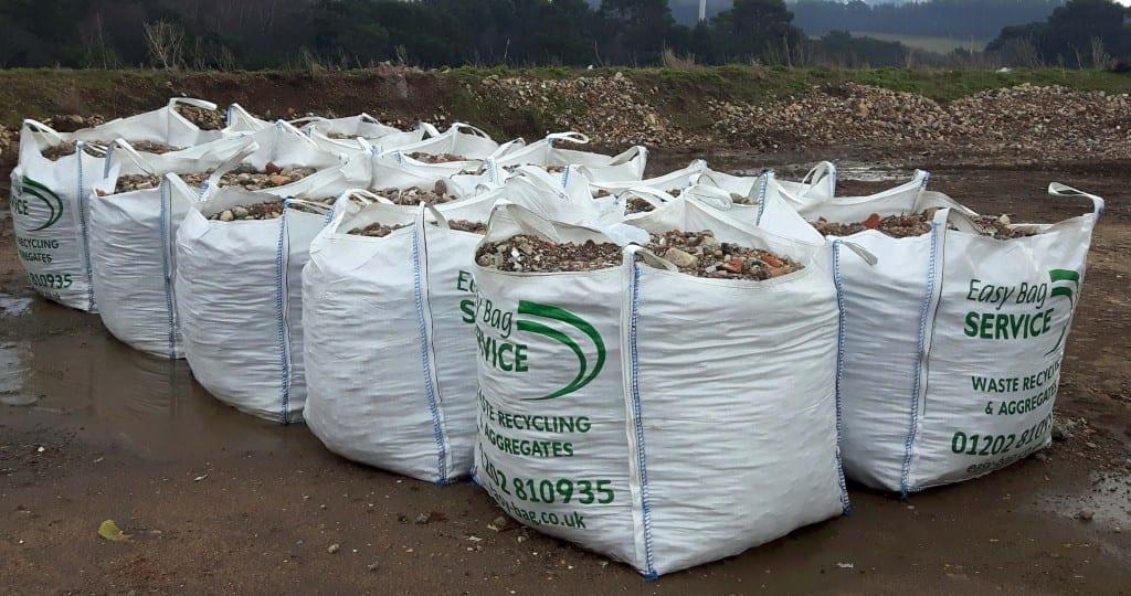 Aggregates in bulk bags
