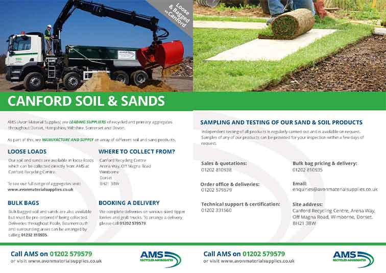 AMS Soil and Sands Brochure