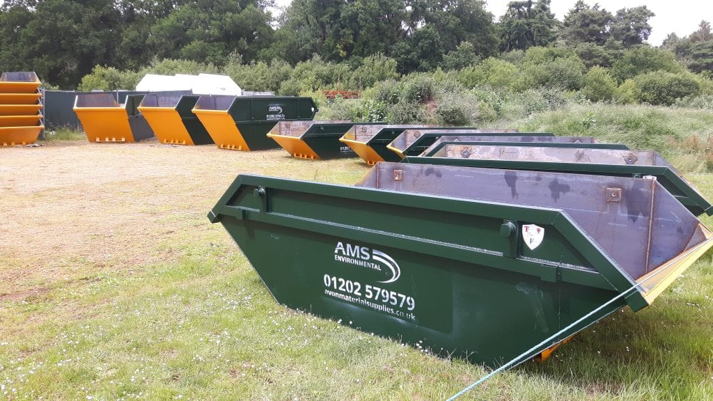Skip hire in Poole and Dorset by AMS