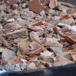 Rubble, inert, concrete skip hire