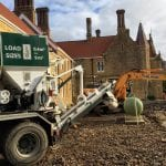 AMS delivering concrete in Bournemouth