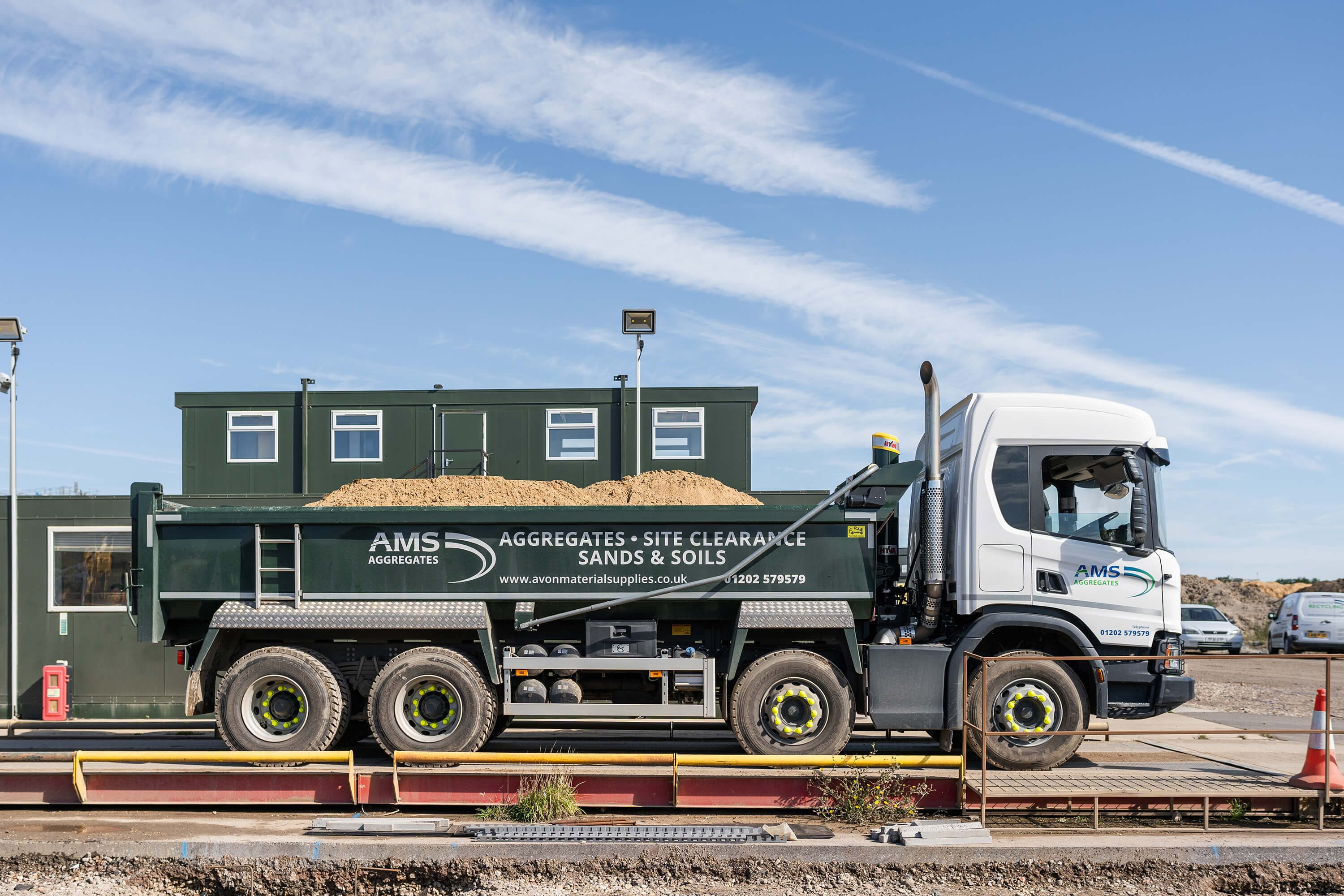 Tipper Truck Hire Bournemouth & Poole